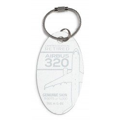Airbus 320 Plane Tag G-BE