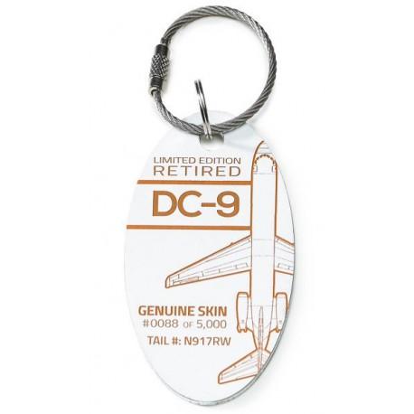DC-9 Plane Tag N917RW